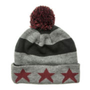 Arizona Striped Star Cuffed Pom Beanie