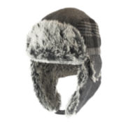 Dockers® Mixed Media Faux-Fur Trapper Hats