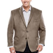 Collection by Michael Strahan Faux-Suede Sport Coat - Big & Tall