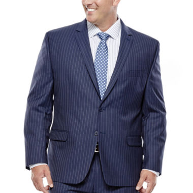 jcpenney.com | Collection by Michael Strahan Striped Navy Suit Jacket - Big & Tall