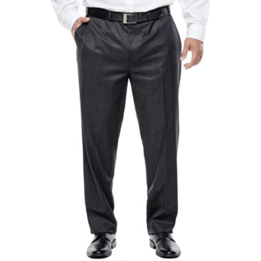 jcpenney.com | Collection by Michael Strahan Charcoal Windowpane Suit Pants - Big & Tall