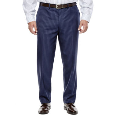 jcpenney.com | Collection by Michael Strahan Striped Navy Suit Pants - Big & Tall