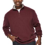 IZOD® Quarter-Zip Fleece Sweatshirt - Big & Tall