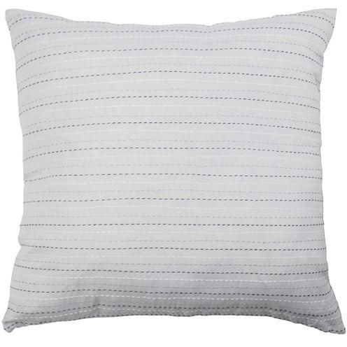 "Vue Cersei 18"" Embroidered Square Decorative Pillow"