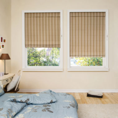 jcpenney.com | JCPenney Home™ Chambray Custom Roman Shade