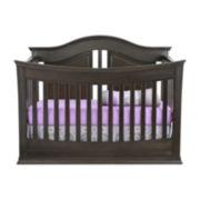 Rockland Austin Convertible Crib - Slate Gray