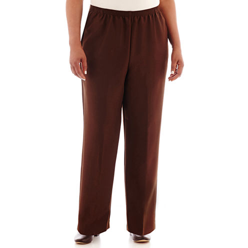 "Alfred Dunner® Pull-On Pants - Plus (29.5""/27"" Short)"