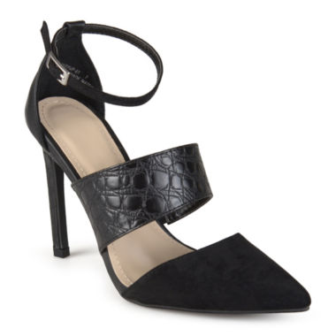 jcpenney.com | Journee Collection Ankle-Strap Pumps
