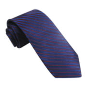 Stafford® Confident Stripe Silk Tie