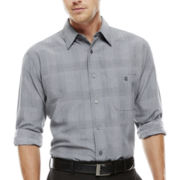 Haggar® Long-Sleeve Microfiber Shirt