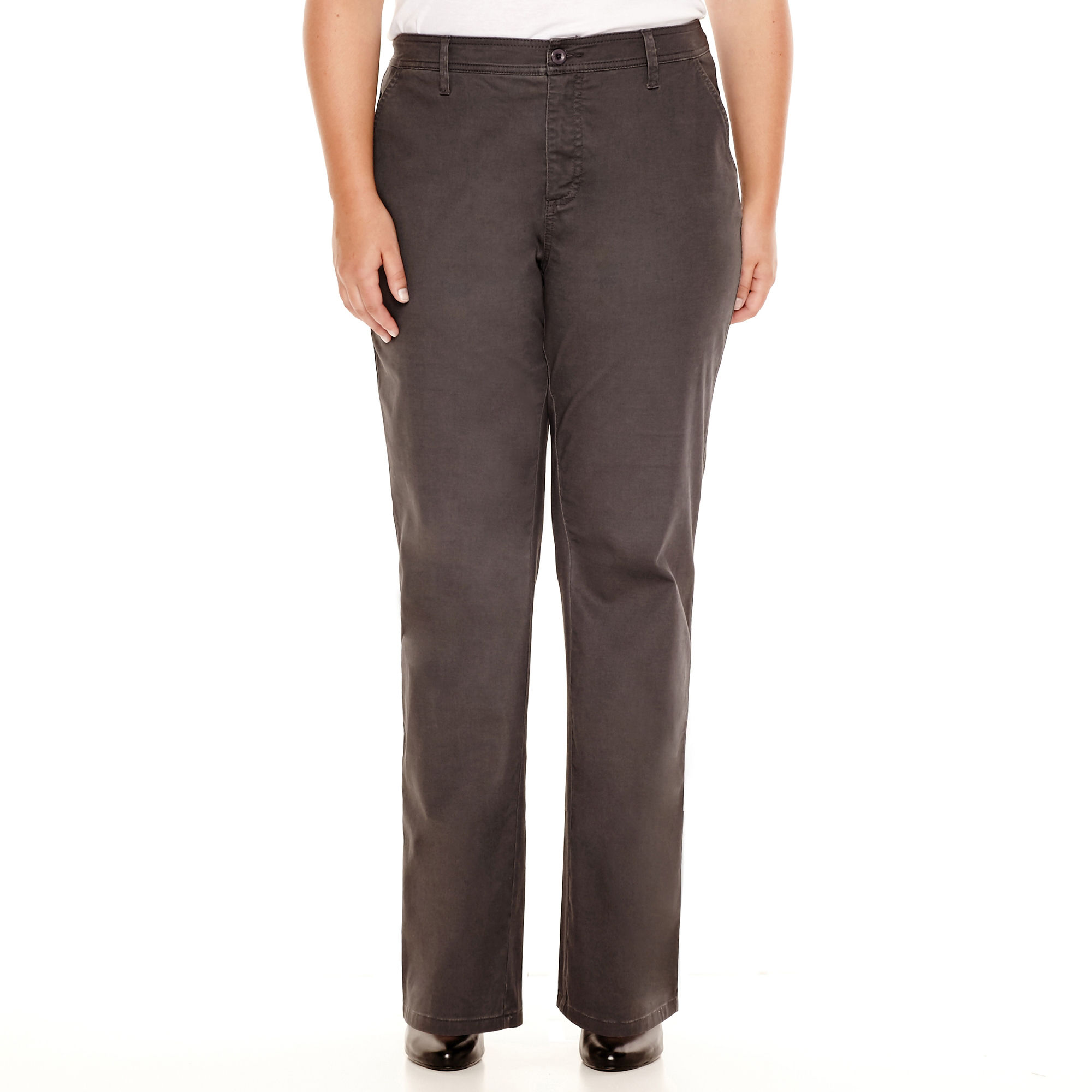 St. John's Bay Bedford Twill Pants - Plus