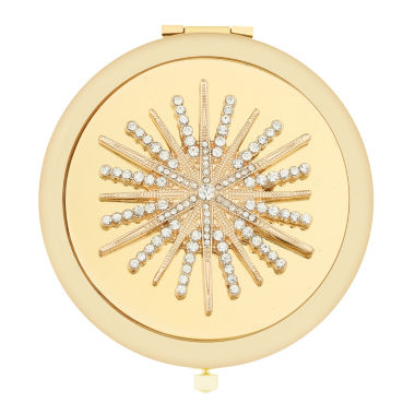 jcpenney.com | Monet® Multicolor Stone and Gold-Tone Starburst Compact