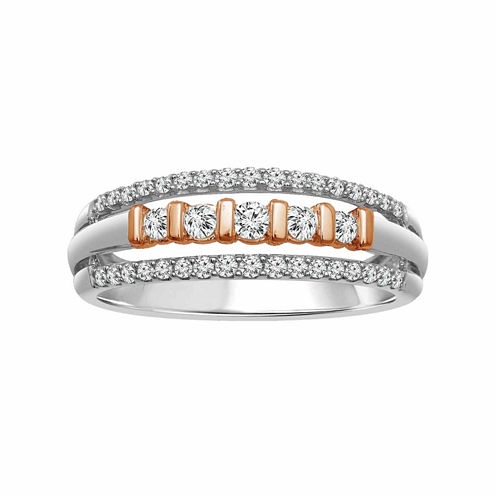 LIMITED QUANTITIES! Womens 1/3 CT. T.W. White Diamond 10K Gold Band