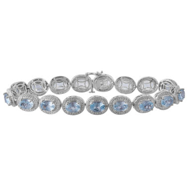 jcpenney.com | Womens Diamond Accent Blue Topaz Tennis Bracelet
