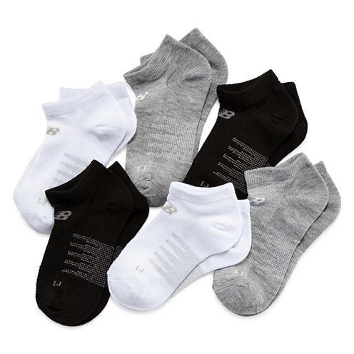 New Balance Girls No Show Socks-Big Kid