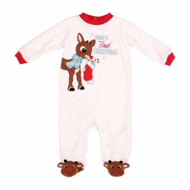 jcpenney.com | Rudolph The Red Nose Reindeer 1pc Sleep and Play Baby Boy 3m-9m