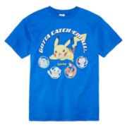 Pokemon Pokemon T-Shirt - Big Kid 7-20