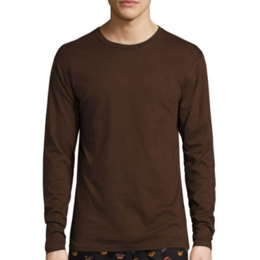 jcpenney.com | Stafford® Long-Sleeve Tee - Big & Tall
