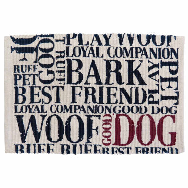 jcpenney.com | P. B. Paws by Park B. Smith® Good Dog Cotton Pet Mat