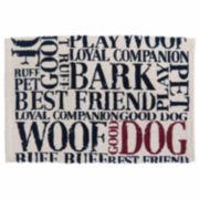 P. B. Paws by Park B. Smith® Good Dog Cotton Pet Mat