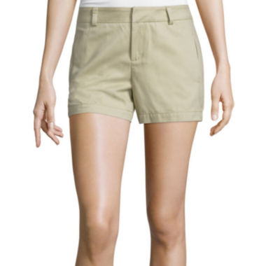 jcpenney.com | Stylus™ Twill Cotton Shorts