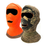 QuietWear® Reversible Camo Facemask