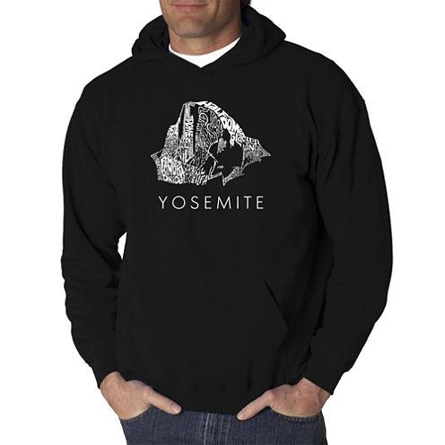 Los Angeles Pop Art Yosemite Logo Hoodie-Big and Tall