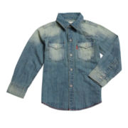 Levi's® Western Denim Shirt - Boys 8-20