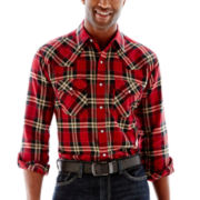 Ely Cattleman® Yarn-Dyed Flannel Shirt