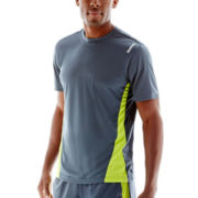 Reebok® Workout-Ready Colorblock Tech Tee