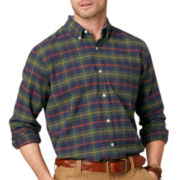 G.H. Bass® Long-Sleeve Plaid Oxford Shirt
