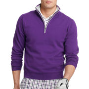 IZOD® Quarter-Zip Sweater