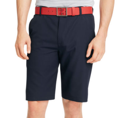 jcpenney.com | IZOD® Solid Flat-Front Shorts