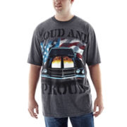 Loud and Proud Graphic Tee-Big & Tall