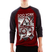 Zoo York® Long-Sleeve Graphic Raglan Shirt