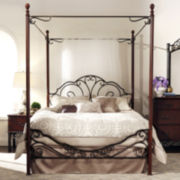Belvedere Metal Canopy Bed