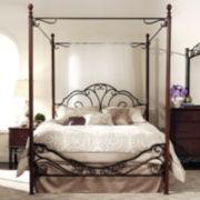 Belvedere Metal Canopy Bed