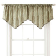 Royal Velvet® Geneva Rod-Pocket Ascot Valance