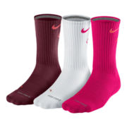 Nike® 3–pk. Dri–FIT Fly Crew Socks–Big & Tall