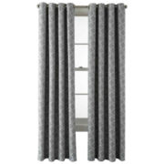 MarthaWindow™ Hampton Lattice Grommet-Top Curtain Panel