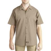 Dickies® Short-Sleeve Poplin Work Shirt