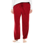 Liz Claiborne® Knit Sleep Pants - Plus