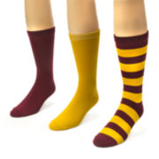 MUK LUKS® Unisex 3-pk. Game Day Crew Socks