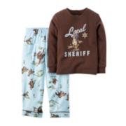Carter's® Cowboy Sheriff Pajamas - Baby Boys newborn-24m