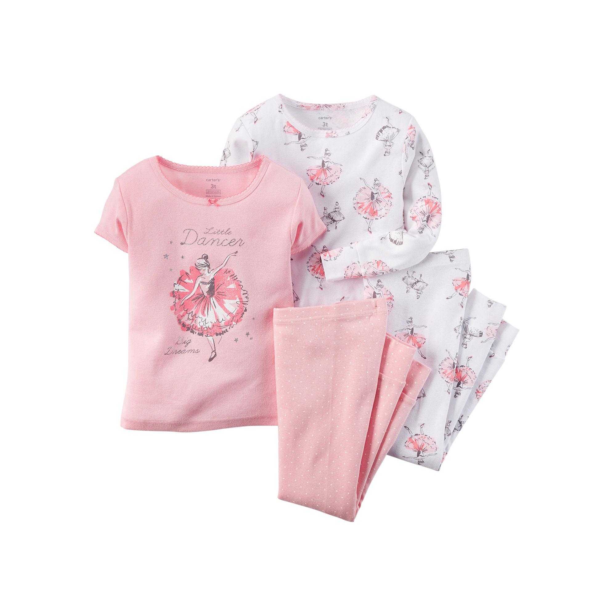 2ecc3a13c UPC 888510777243 - Carter s 4-pc. Ballerina Pajama Set - Baby Girls ...