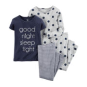 Carter's® 4-pc. Good Night Pajama Set - Toddler Girls 2t-5t