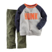 Carter's® Sweatshirt and Pants - Baby Boys newborn-24m