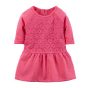 Carter's® Lace-Peplum Top - Baby Girls newborn-24m