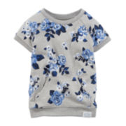 Carter's® Floral-Print French Terry Tunic - Baby Girls newborn-24m