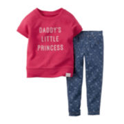 Carter's® Sweatshirt and Jeggings - Toddler Girls 2t-5t